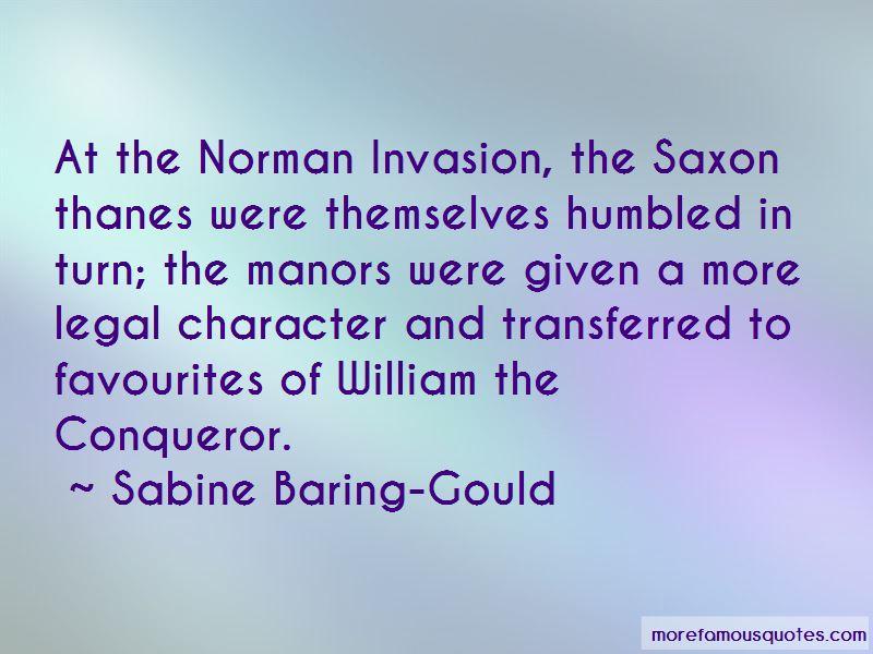 Quotes About William The Conqueror