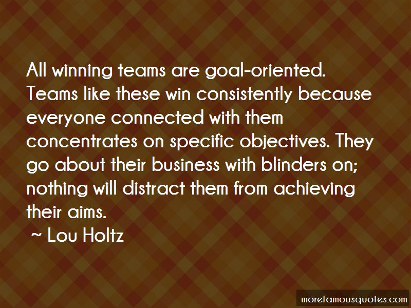 Quotes About Winning Consistently