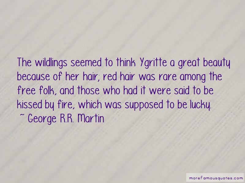 Quotes About Ygritte