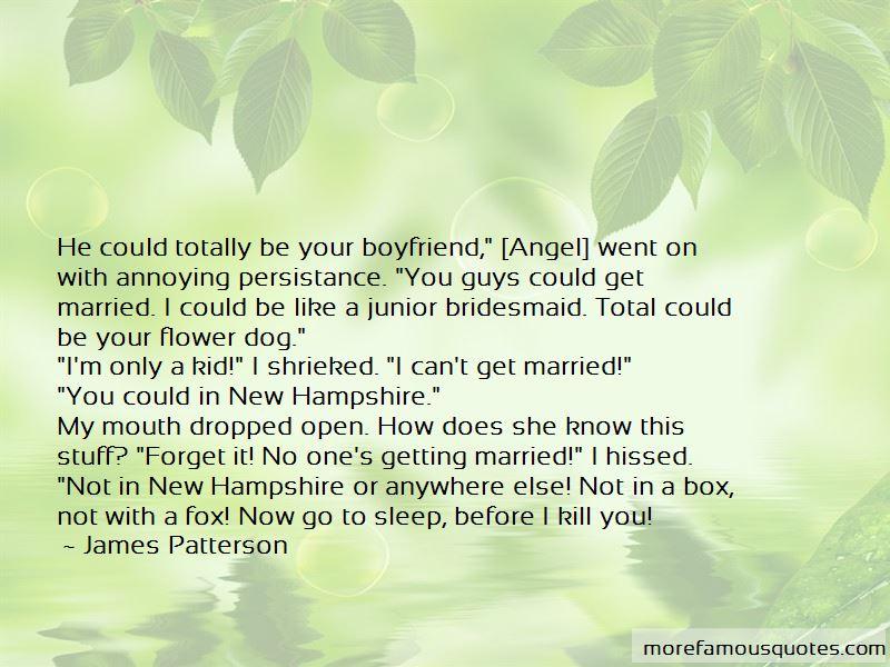 Marrying your ex boyfriend