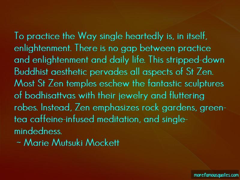 Quotes About Zen Gardens