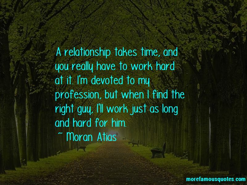 Relationship Takes Time Quotes