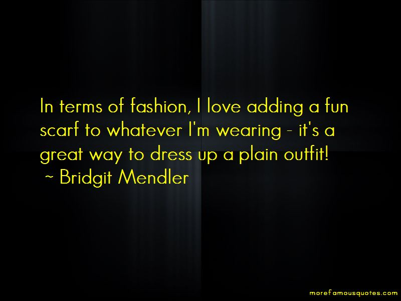 Scarf Fashion Quotes