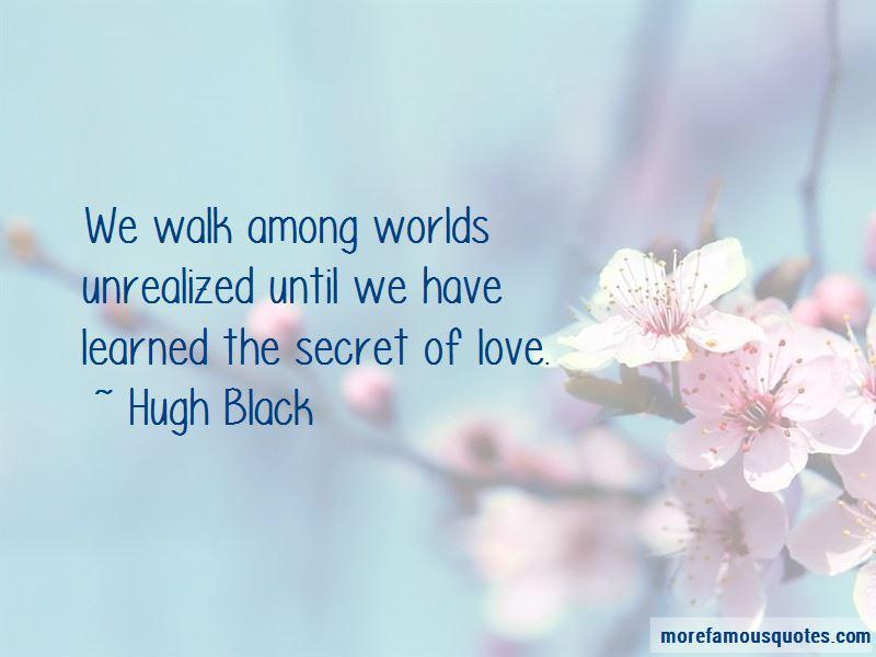 Secret Of Love Quotes
