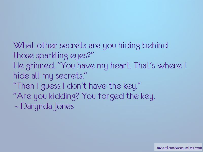 Secrets Behind The Eyes Quotes Pictures 2