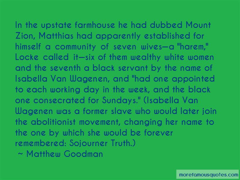 Sojourner Truth Abolitionist Quotes