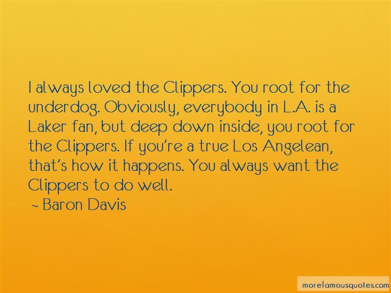 True Laker Fan Quotes