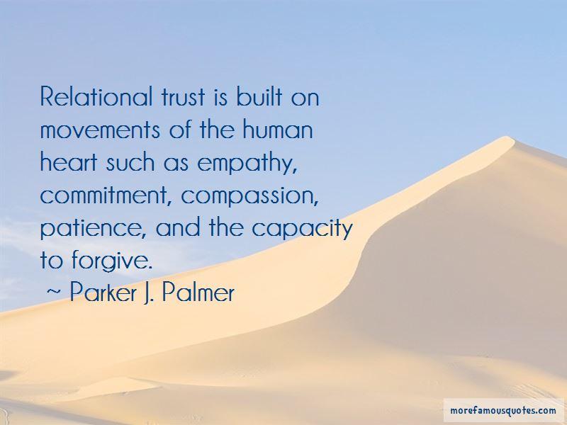Trust Is Built Quotes