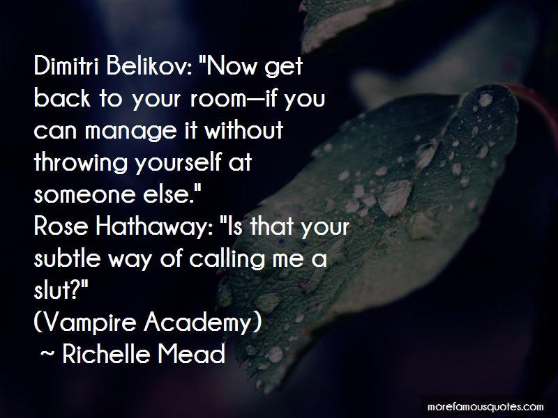 Vampire Academy Dimitri Belikov Quotes Pictures 2