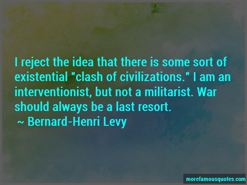 War As A Last Resort Quotes