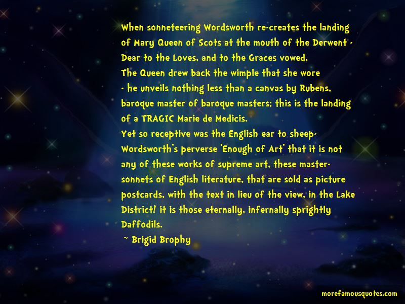 Wordsworth Lake District Quotes