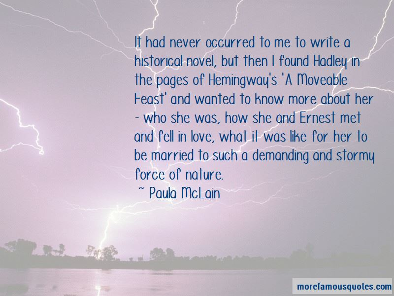 A Moveable Feast Love Quotes
