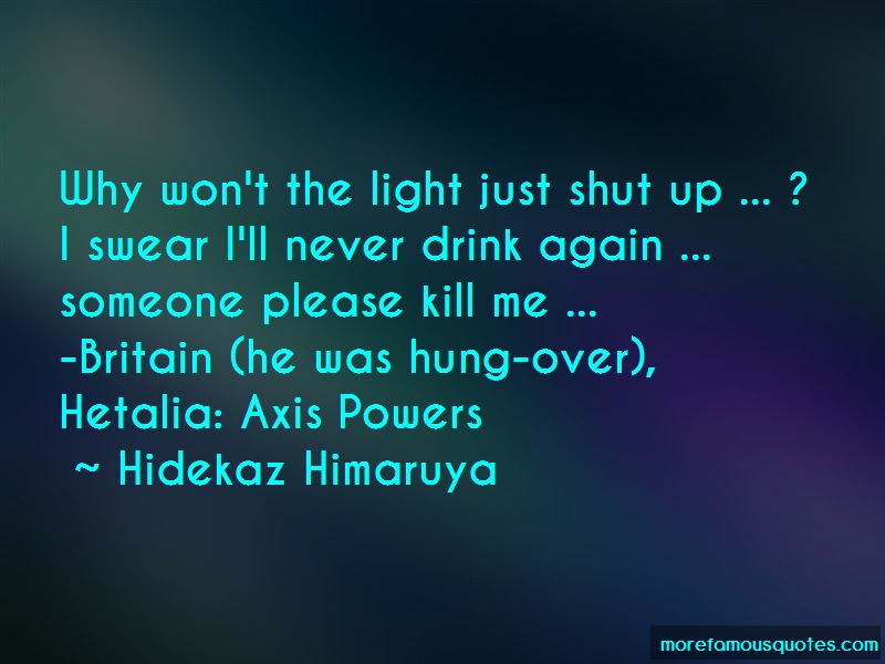 Axis Powers Hetalia Quotes