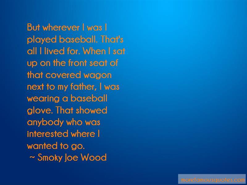 Baseball Glove Quotes