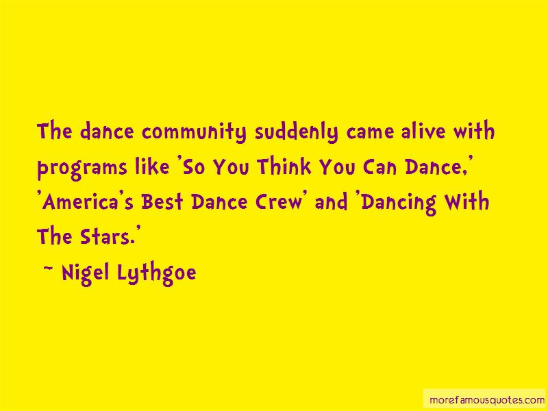 Best Dance Crew Quotes