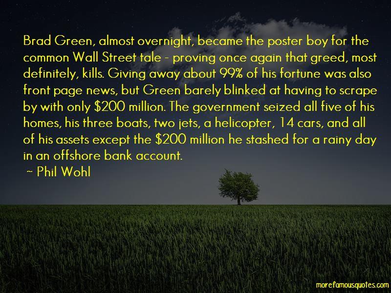 Brad Wall Quotes