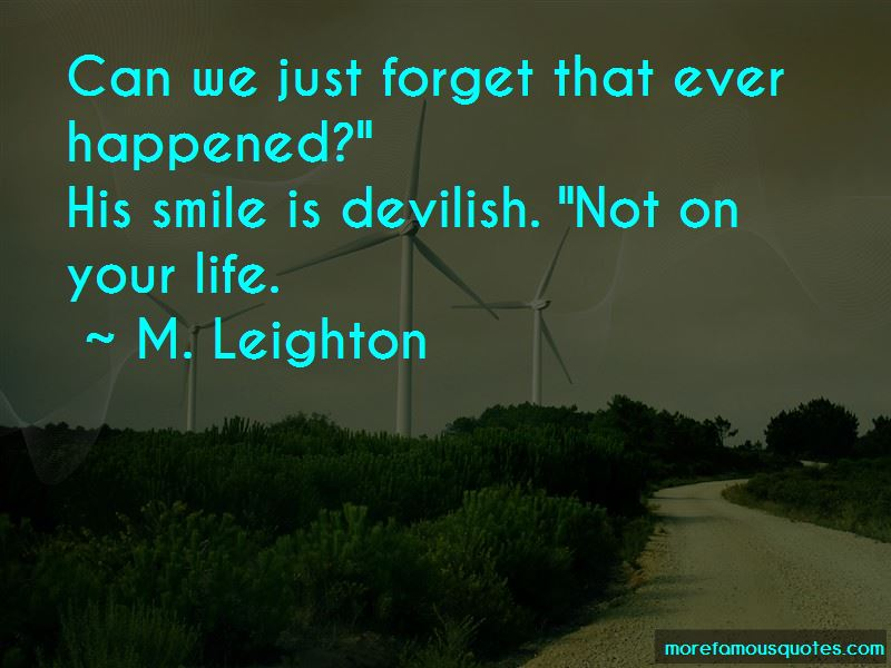 Can Forget Your Smile Quotes