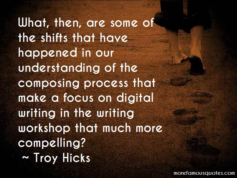 Composing Process Quotes