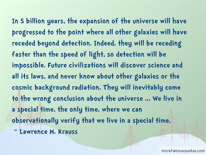 Cosmic Background Radiation Quotes