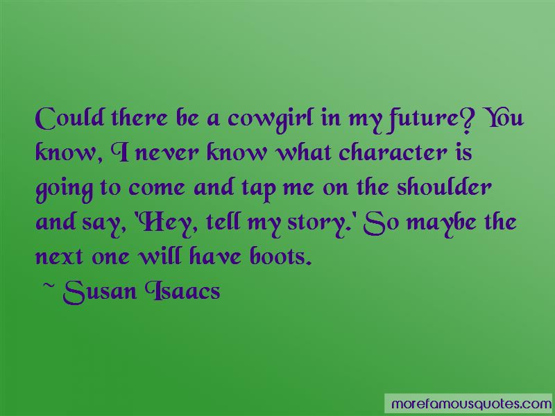 Cowgirl And Her Boots Quotes