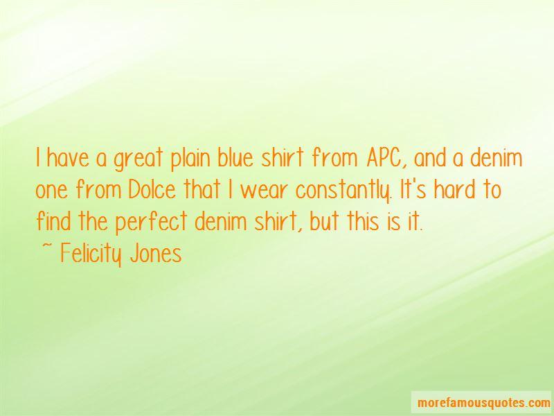 Denim Shirt Quotes