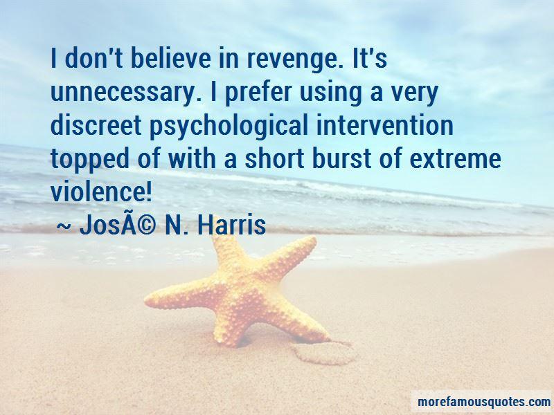 Discreet Revenge Quotes
