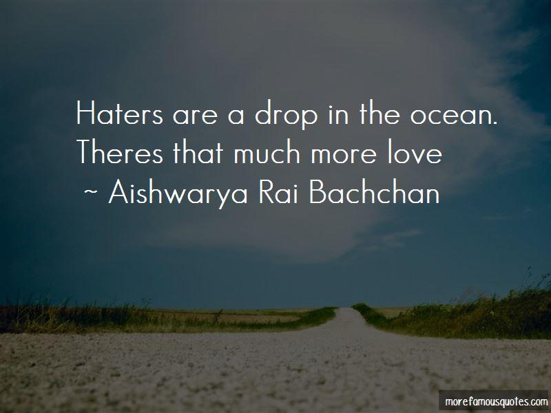 Drop In The Ocean Quotes