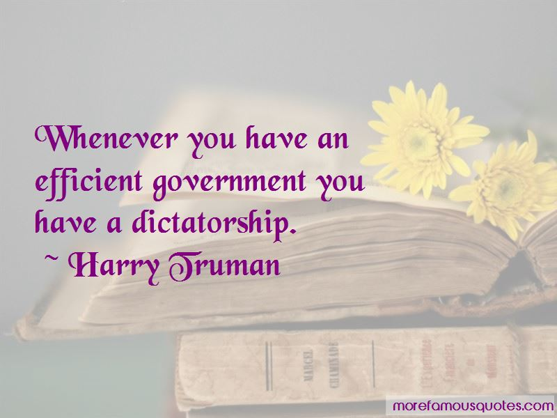 Efficient Government Quotes Pictures 4