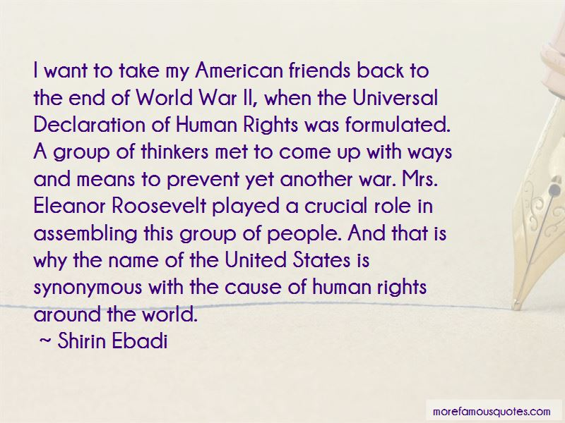 Eleanor Roosevelt Declaration Of Human Rights Quotes Top 1 Quotes
