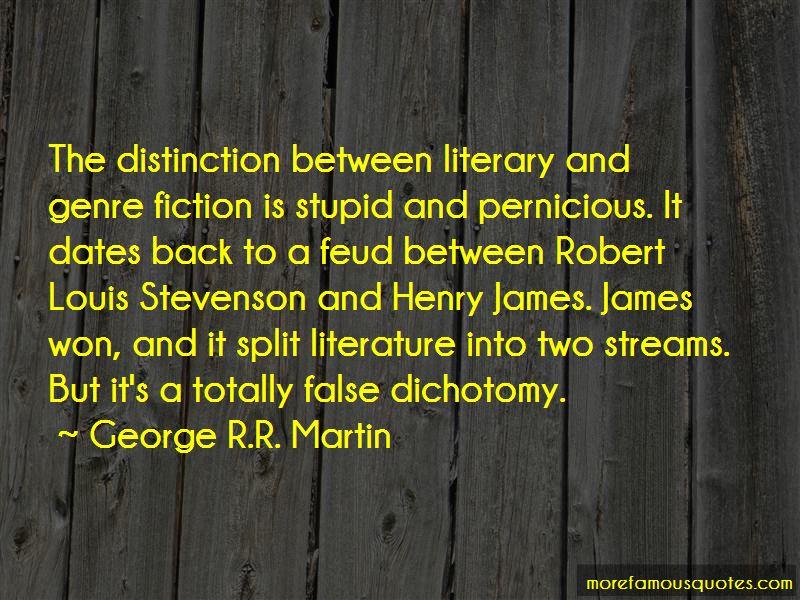 False Dichotomy Quotes