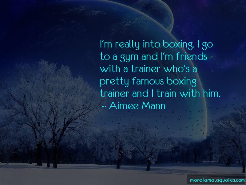 Famous Boxing Trainer Quotes