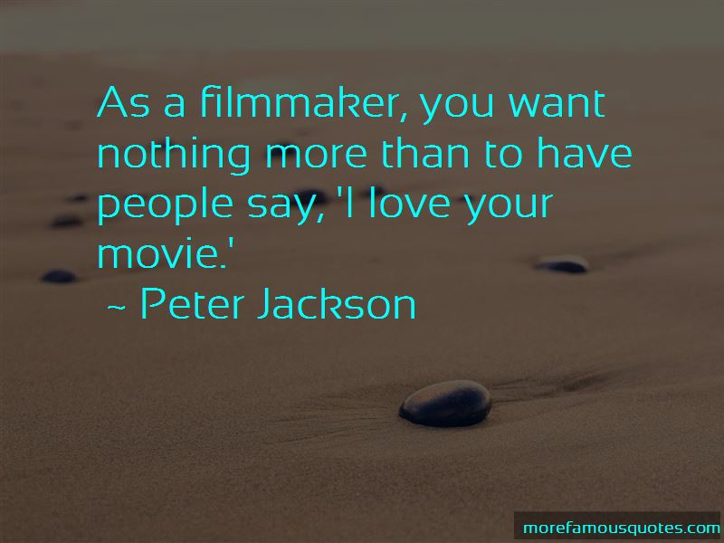 Filmmaker Quotes