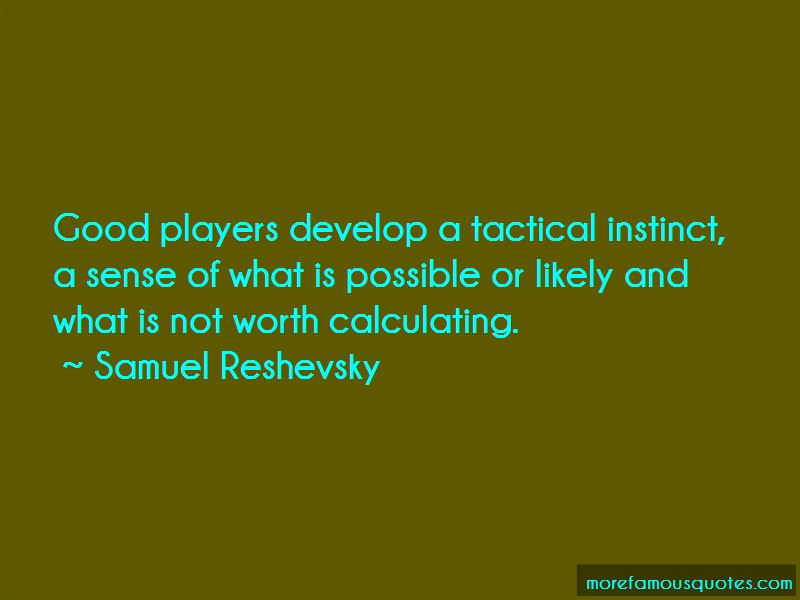 Good Tactical Quotes