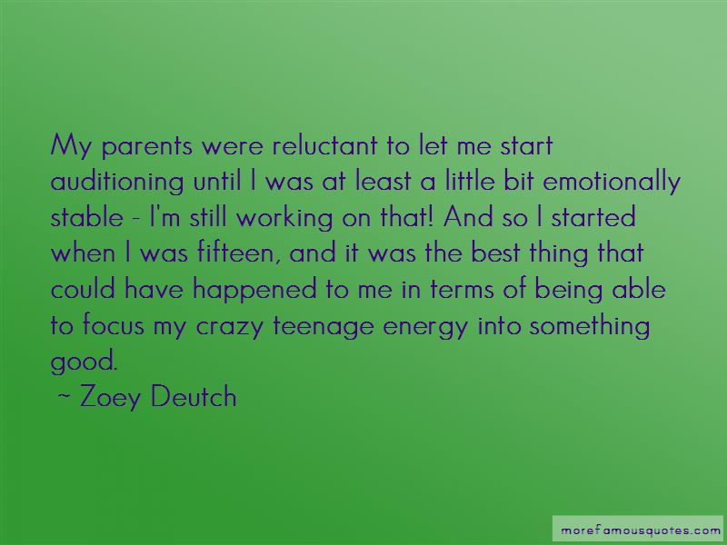 Good Teenage Quotes: top 39 quotes about Good Teenage from