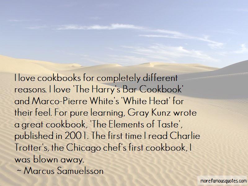 Gray Kunz Quotes