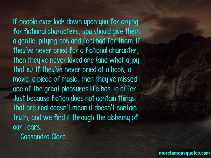 Great Fictional Character Quotes