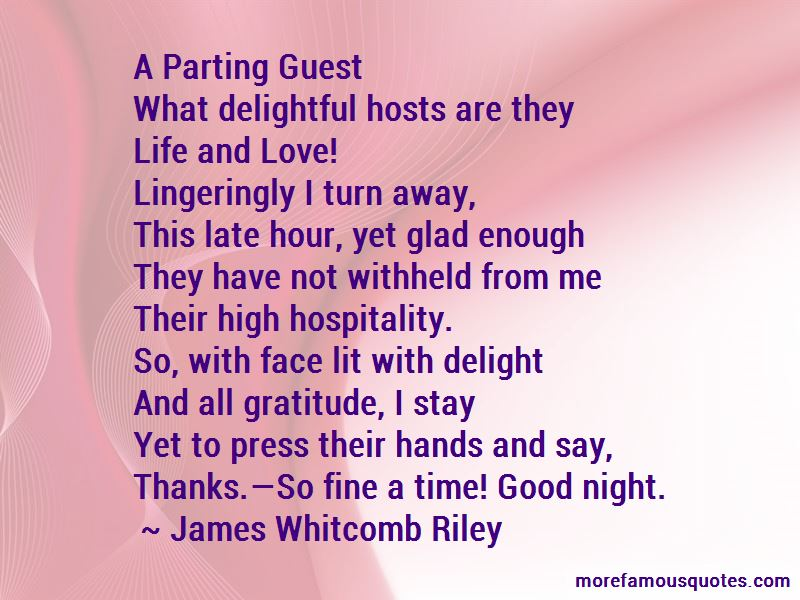 Guest Delight Quotes Pictures 2