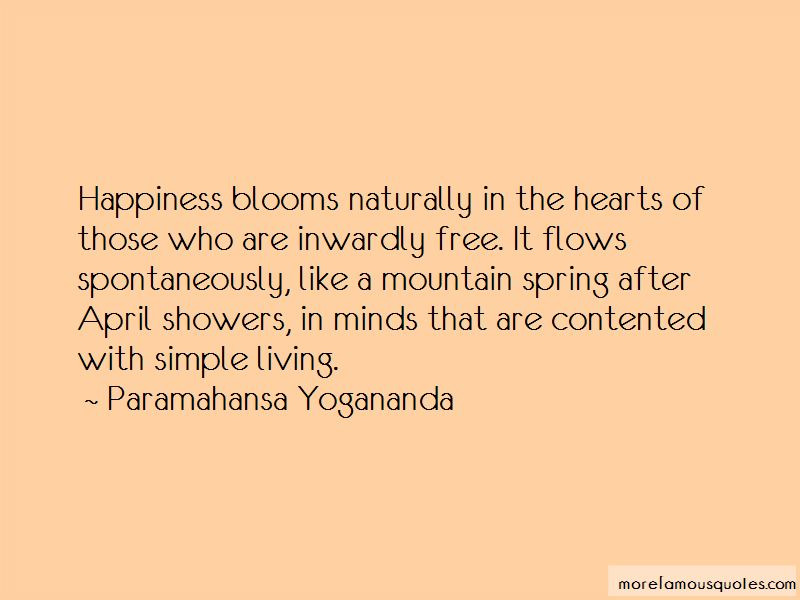 Happiness Blooms Quotes