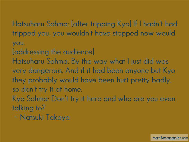 Hatsuharu Sohma Quotes