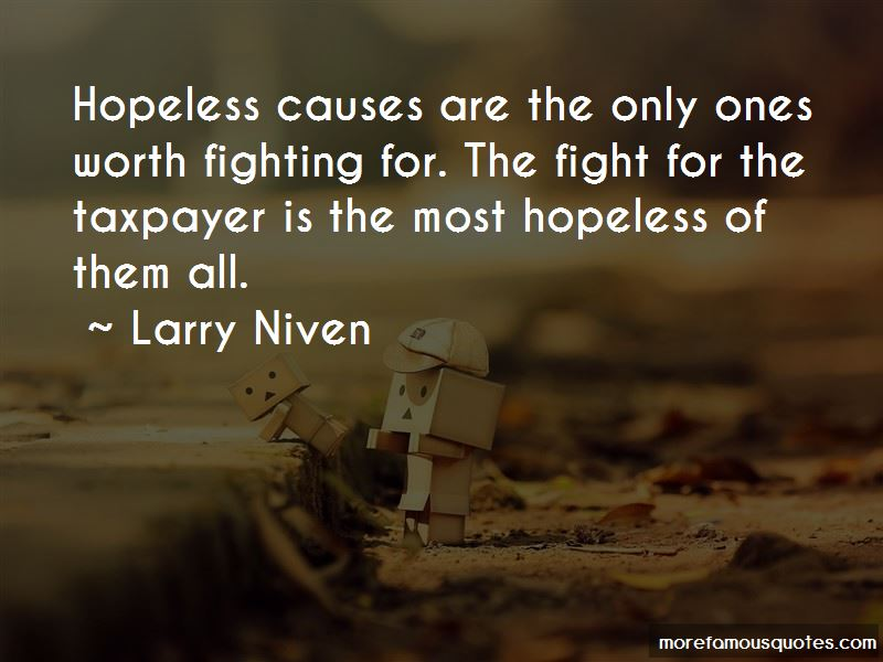 Hopeless Causes Quotes
