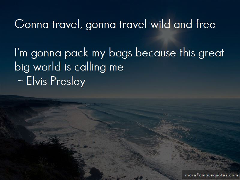 I'm Gonna Travel The World Quotes