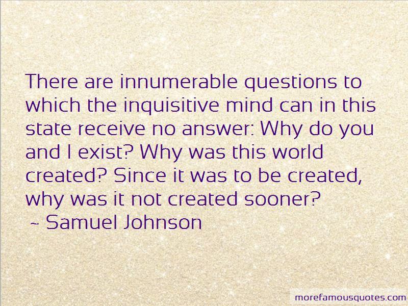 Inquisitive Mind Quotes