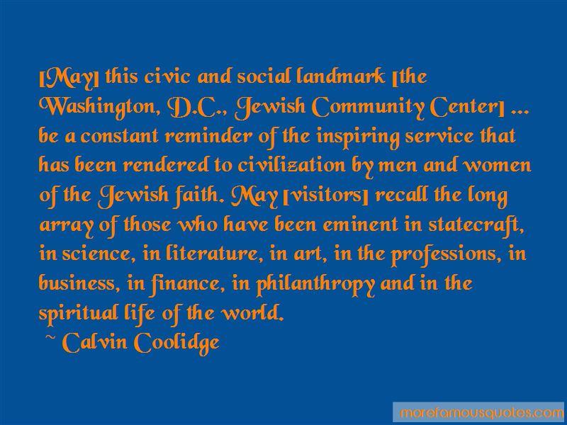 Jewish Philanthropy Quotes
