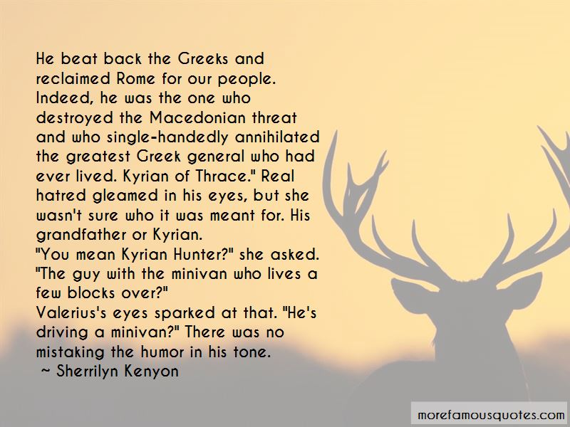 Kyrian Hunter Quotes