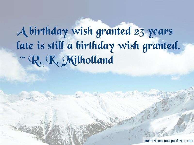 Late Wish Birthday Quotes