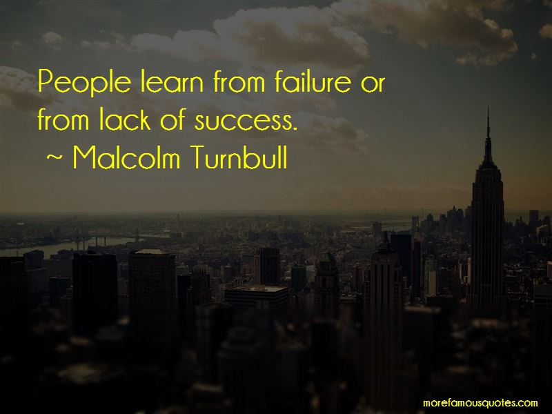 Learn From Failure Quotes