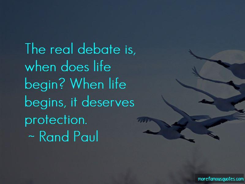 Life Begin Quotes