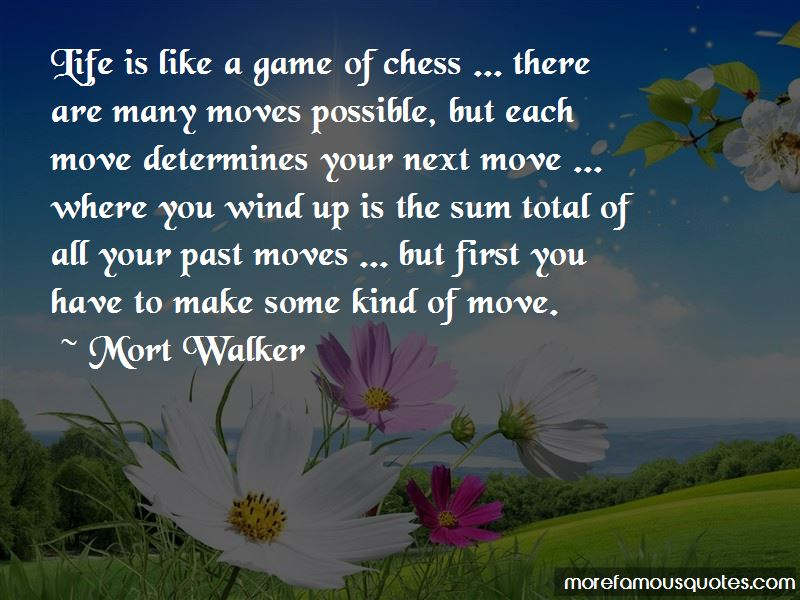 Life Is Like A Game Of Chess Quotes