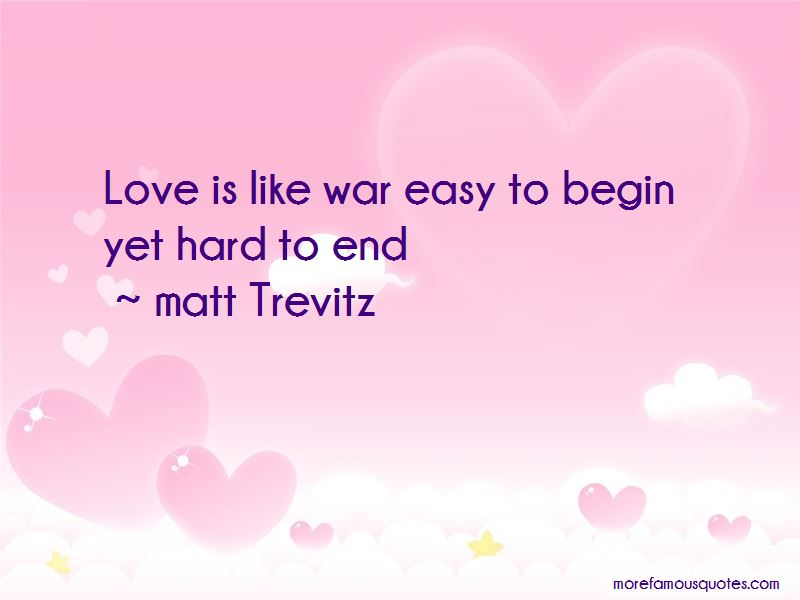 Love Is Like War Quotes Pictures 2