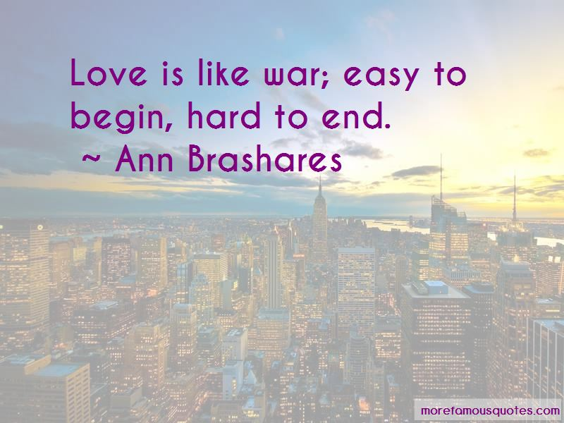 Love Is Like War Quotes Pictures 3